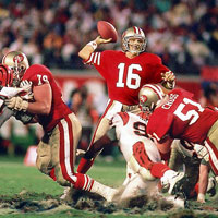 Super Bowl stories 1: Joe Montana, the ice man