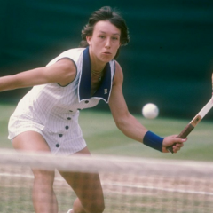 Martina Navratilova, una vita in serve & volley (1a parte)