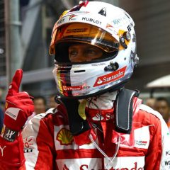 F1 2017: nella notte del deserto brilla la luce Rossa