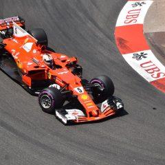 F1 2017: Montecarlo si colora di rosso