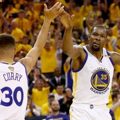 Nba Finals '17 gara 2: Curry e Durant trascinano i Warriors