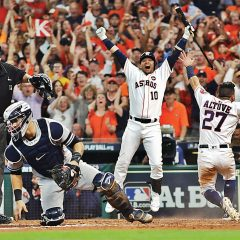 MLB Playoff '17: Altuve e Correa piegano anche Chapman, 2-0 Astros