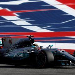 F1 '17: ad Austin ancora Hamilton, Ferrari d'orgoglio