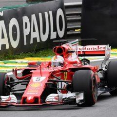 F1 '17: podio rosso a Interlagos