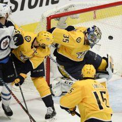 Playoff NHL '18: i Jets sbancano Nashville, Predators a casa