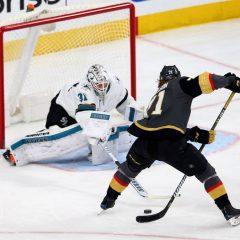 Playoff NHL '18: Golden Knights, cinica impresa a San Jose