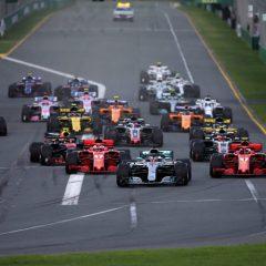 Bandiera a scacchi per la Formula 1 2018
