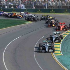 F1 '19: missile Mercedes in Australia