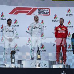 F1 '19: a Baku la Mercedes fa il vuoto