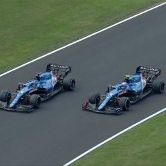 F1 '21: la prima di Ocon