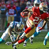 Playoff NFL: impresa 49ers e domenica sarà ancora Manning vs Brady
