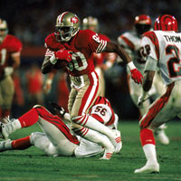 Superbowl stories 2: Jerry Rice, the world in his hands