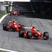 Ferrari 2000-2004: the history of a domination (2)