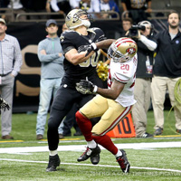 NFL week 10: 49ers a New Orleans, colpaccio con giallo