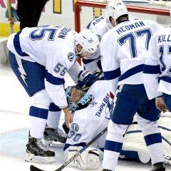 NHL playoff 2016: Tampa perde Bishop ma vince gara 1