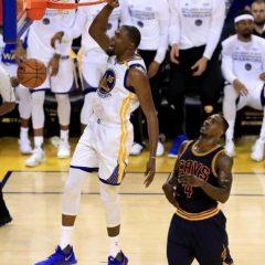 NBA Finals '17: gara 1 è tutta Warriors