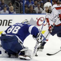 Playoff NHL '18: Capitals, doppietta pesante a Tampa Bay