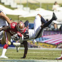 NFL '19: week 6, i 49ers sbancano anche L.A.!