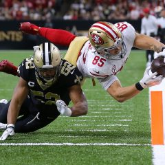 NFL '19: week 14, 49ers all'ultimo respiro, con i Saints è la partita dell'anno