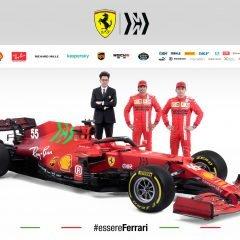 F1 '21: Presentazione Ferrari